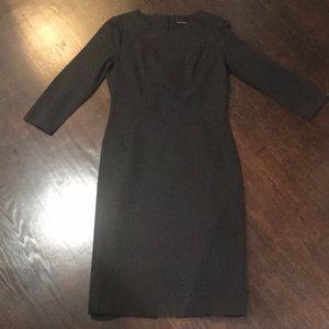 Banana republic black dress size 6